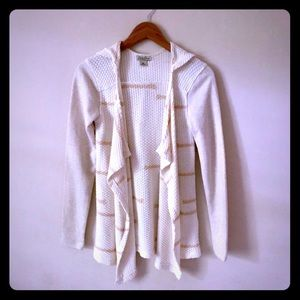 Lucky Brand open hoody cardigan size XS